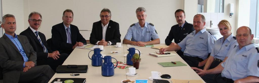von links: Stefan Mauermann, Norbert Büscher und Bürgermeister Alfred Haas