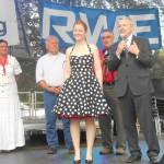 Auch die Sieger-Ehrung in Schönenberg (mit LR Kühn) war durchaus stilvoll