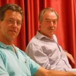 Neu im Vorstand, aber schon längst bewährt: Reiner Braun und Heinz- Erich Friederichs