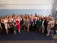 Gruppenbild der Teilnehmer des Hellene-Weber-Kollegs. Foto: Birte Zellentin