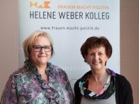 Marlene Kemmerling und Notburga Kunert - Foto: Birte Zellentin
