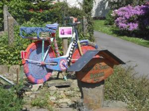 Das Fahrrad zog in Berzbach die Augen auf sich
